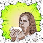 くしゃみインフルエンザウイルスマスク呼吸器咳感染症細菌風邪