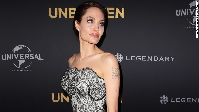 arrives at the world premiere of Unbroken at the State Theatre on November 17, 2014 in Sydney, Australia.